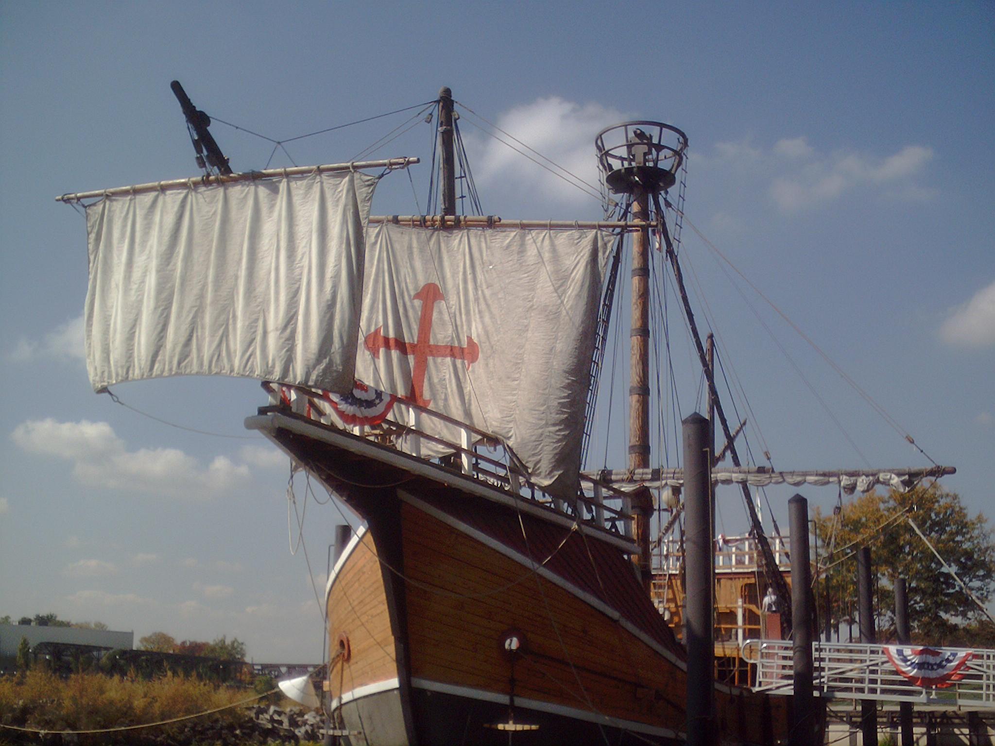 Santa Maria in port